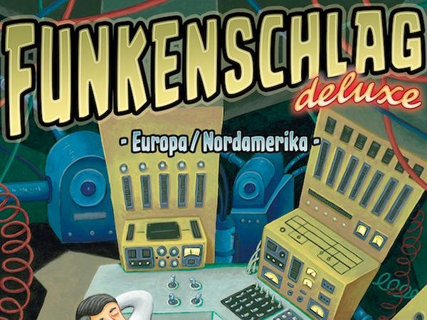 Bild zu Frühjahrs-Neuheiten-Spiel Funkenschlag Deluxe: Europa/Nordamerika