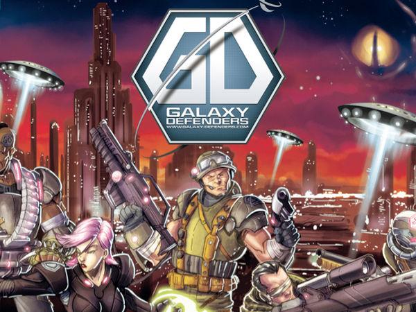 Bild zu Frühjahrs-Neuheiten-Spiel Galaxy Defenders
