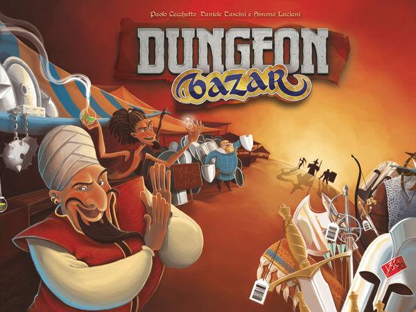 Bild zu Frühjahrs-Neuheiten-Spiel Dungeon Bazar