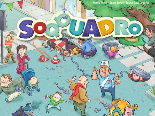 Bild zu Frühjahrs-Neuheiten-Spiel Soqquadro
