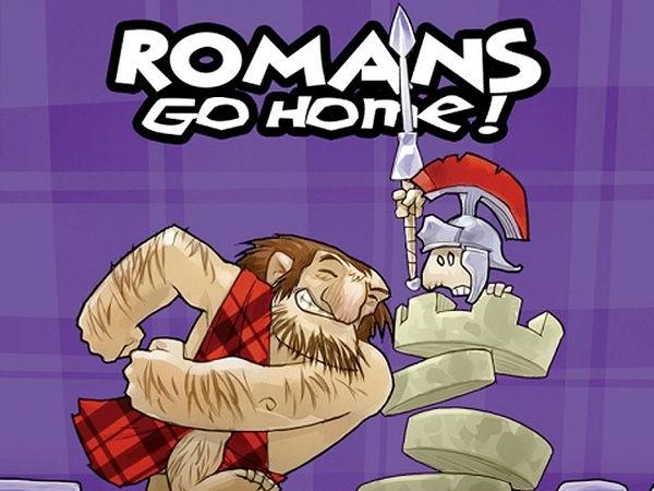 Bild zu Frühjahrs-Neuheiten-Spiel Romans Go Home!