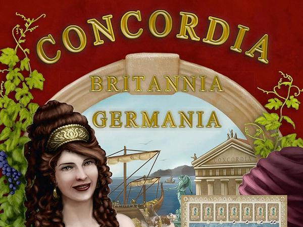 Bild zu Frühjahrs-Neuheiten-Spiel Concordia: Britannia & Germania