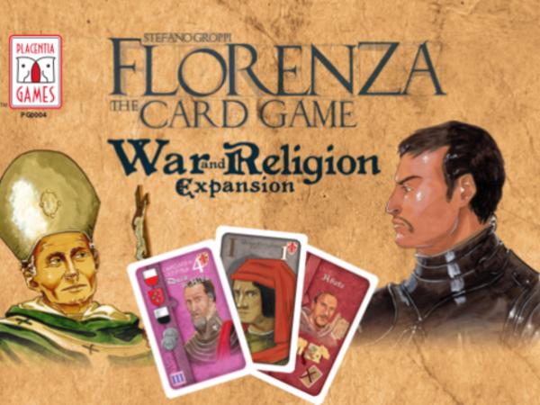 Bild zu Frühjahrs-Neuheiten-Spiel Florenza: The Card Game - War and Religion