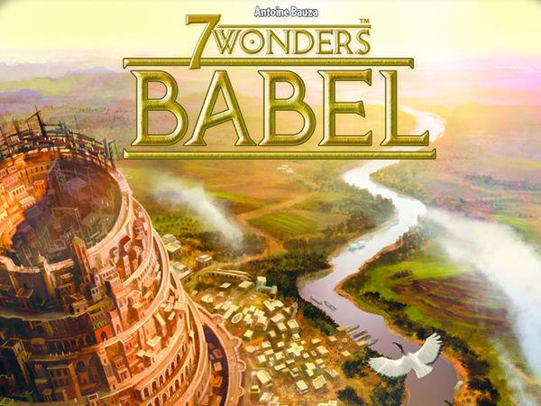 Bild zu Frühjahrs-Neuheiten-Spiel 7 Wonders: Babel