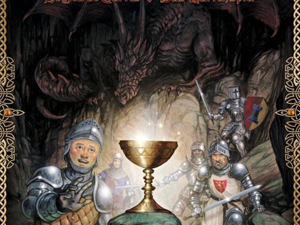 Bild zu Frühjahrs-Neuheiten-Spiel Schatten über Camelot: Das Kartenspiel