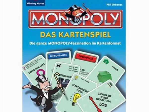 Bild zu Frühjahrs-Neuheiten-Spiel Monopoly: Das Kartenspiel