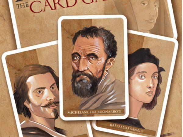 Bild zu Frühjahrs-Neuheiten-Spiel Florenza: The Card Game