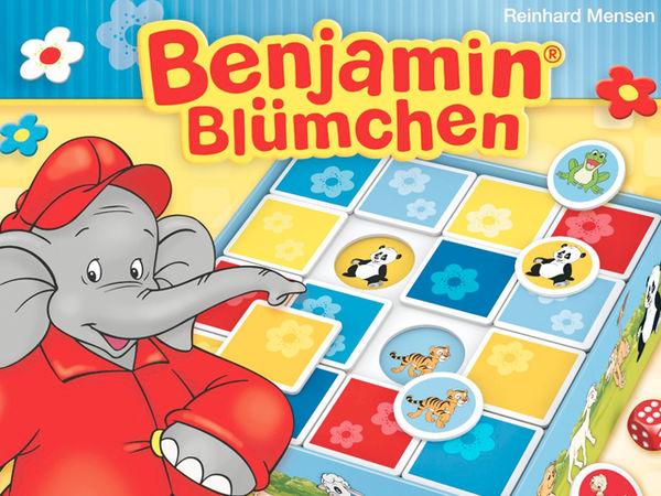 Bild zu Frühjahrs-Neuheiten-Spiel Benjamin Blümchen: Schiebe Memo