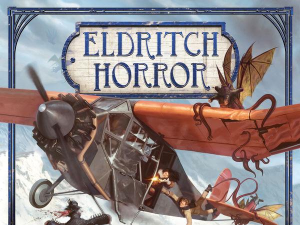 Bild zu Frühjahrs-Neuheiten-Spiel Eldritch Horror: Berge des Wahnsinns - Erweiterung