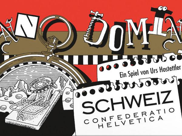 Bild zu Alle Brettspiele-Spiel Anno Domini - Schweiz