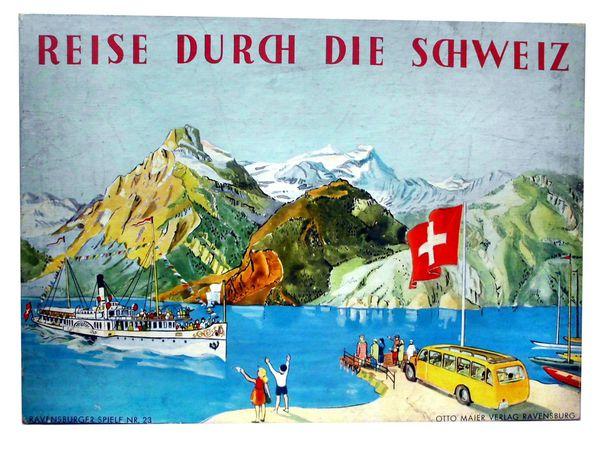 Bild zu Alle Brettspiele-Spiel Reise durch die Schweiz