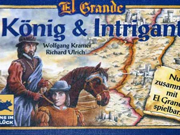 Bild zu Frühjahrs-Neuheiten-Spiel El Grande: König & Intrigant