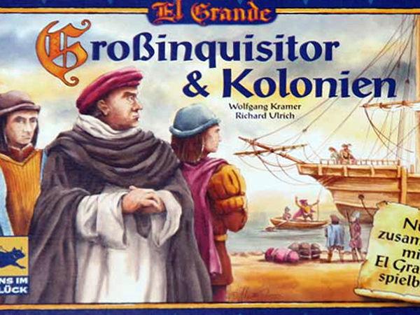 Bild zu Frühjahrs-Neuheiten-Spiel El Grande: Großinquisitor & Kolonien
