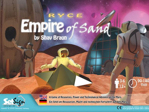 Bild zu Alle Brettspiele-Spiel Ryce: Empire of Sand