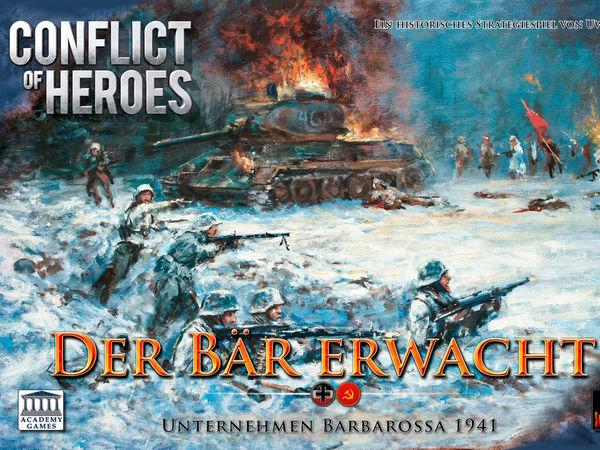 Bild zu Frühjahrs-Neuheiten-Spiel Conflict of Heroes: Der Bär erwacht!