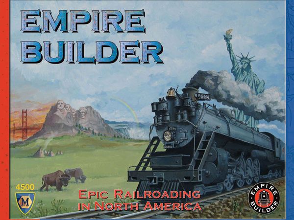 Bild zu Frühjahrs-Neuheiten-Spiel Empire Builder