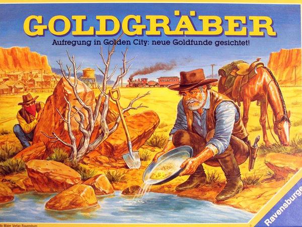 Bild zu Alle Brettspiele-Spiel Goldgräber