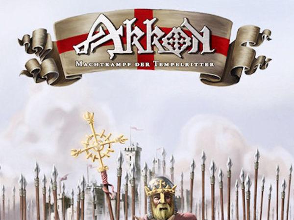 Bild zu Frühjahrs-Neuheiten-Spiel Akkon - Machtkampf der Tempelritter