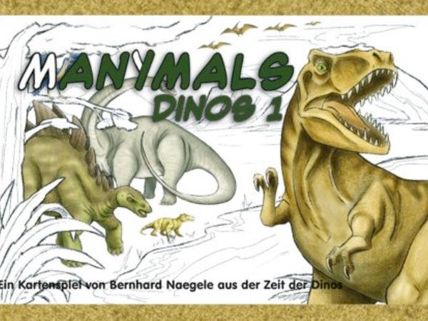 Bild zu Frühjahrs-Neuheiten-Spiel Manimals: Dinos
