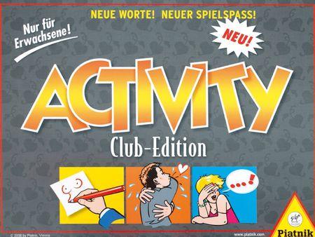 Activity: Club Edition