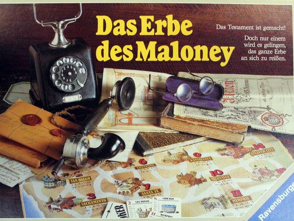 Bild zu Alle Brettspiele-Spiel Das Erbe des Maloney