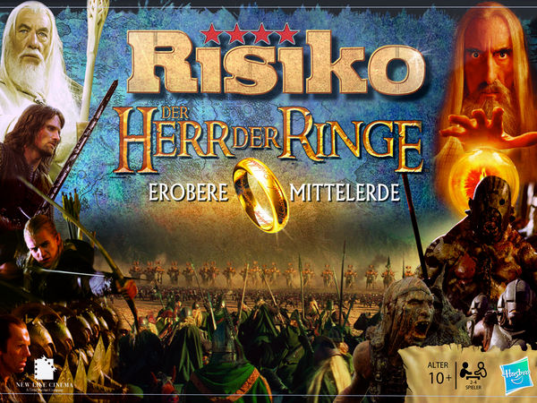 Bild zu Frühjahrs-Neuheiten-Spiel Risiko: Der Herr der Ringe