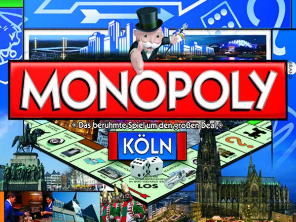 Bild zu Frühjahrs-Neuheiten-Spiel Monopoly Köln