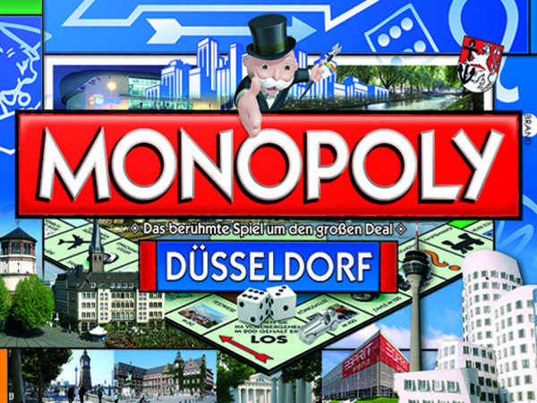 Bild zu Frühjahrs-Neuheiten-Spiel Monopoly Düsseldorf