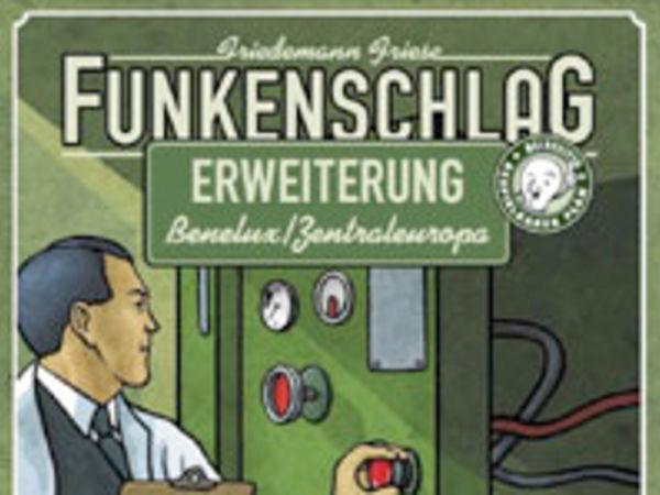 Bild zu Frühjahrs-Neuheiten-Spiel Funkenschlag - Erweiterung Benelux/Zentraleuropa