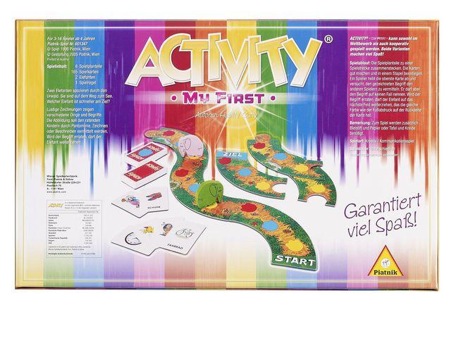 Activity My first Bild 1