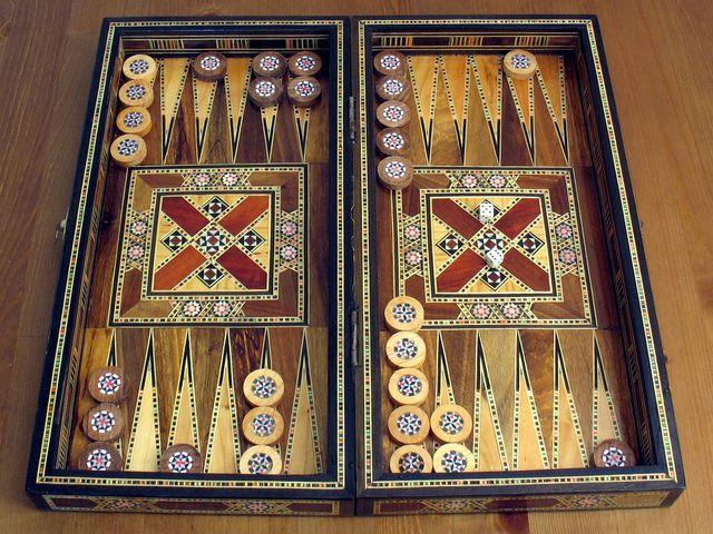 Backgammon Bild 1