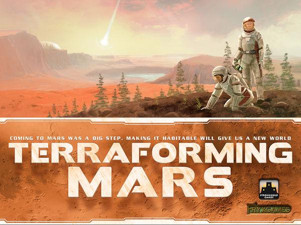 Bild zu Alle Brettspiele-Spiel Terraforming Mars
