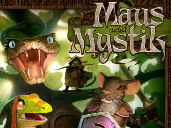 Bild zu Alle Brettspiele-Spiel Maus & Mystik: Geschichten aus dem Dunkelwald