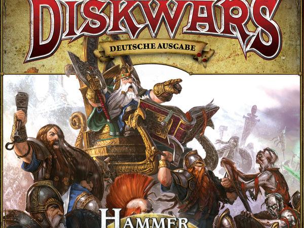 Bild zu Frühjahrs-Neuheiten-Spiel Warhammer Diskwars: Hammer und Amboss Erweiterung
