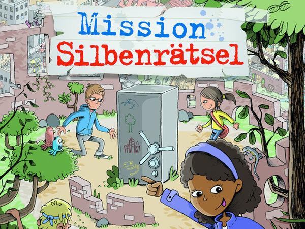 Bild zu Frühjahrs-Neuheiten-Spiel Mission Silbenrätsel
