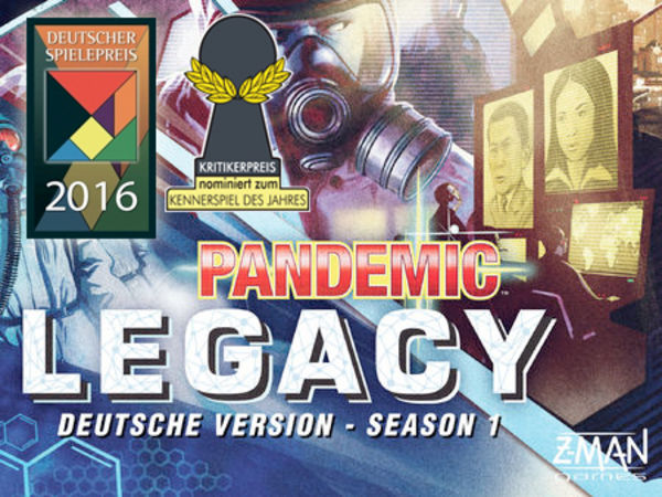 Bild zu Frühjahrs-Neuheiten-Spiel Pandemic Legacy - Season 1