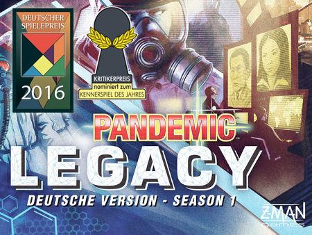 Pandemic Legacy - Season 1