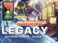 Alle Brettspiele-Spiel Pandemic Legacy - Season 1 spielen