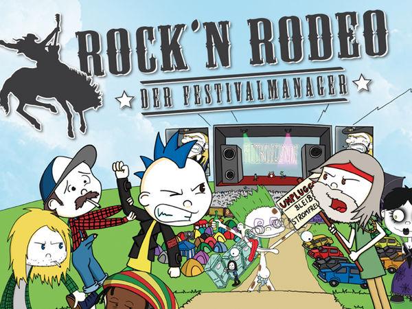 Bild zu Frühjahrs-Neuheiten-Spiel Rock'n Rodeo: Der Festivalmanager
