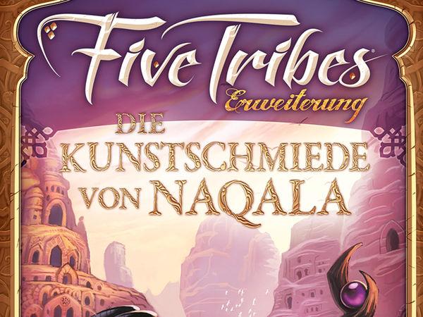 Bild zu Frühjahrs-Neuheiten-Spiel Five Tribes: Die Kunstschmiede von Naqala
