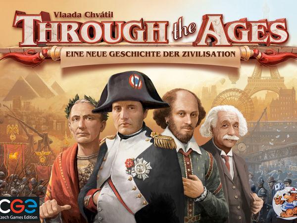 Bild zu Frühjahrs-Neuheiten-Spiel Through the Ages: Eine neue Geschichte der Zivilisation