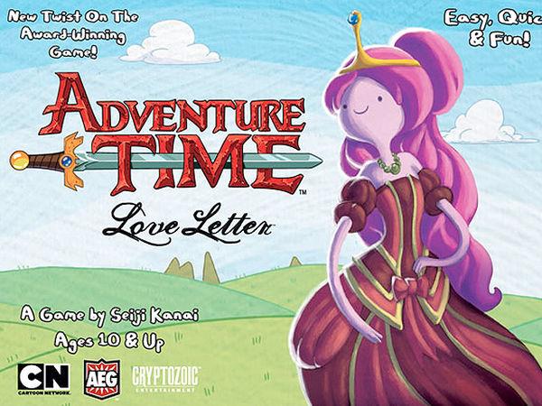 Bild zu Frühjahrs-Neuheiten-Spiel Love Letter: Adventure Time