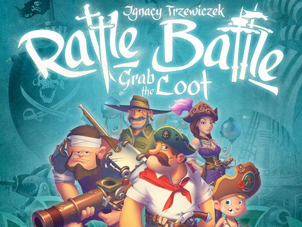 Bild zu Frühjahrs-Neuheiten-Spiel Rattle, Battle, Grab the Loot