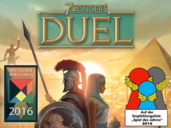 Bild zu Frühjahrs-Neuheiten-Spiel 7 Wonders: Duel