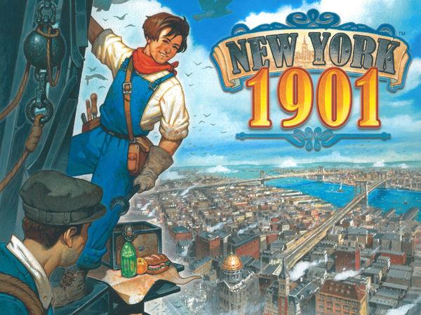 Bild zu Frühjahrs-Neuheiten-Spiel New York 1901