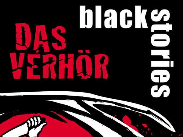 Bild zu Frühjahrs-Neuheiten-Spiel Black Stories: Das Verhör