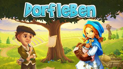 Spiele jetzt kostenlos das Alle-Spiel Dorfleben