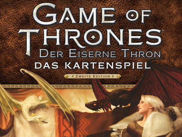 Bild zu Frühjahrs-Neuheiten-Spiel Game of Thrones - Der Eiserne Thron: Das Kartenspiel, 2. Edition