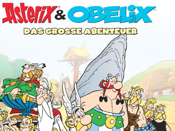 Bild zu Frühjahrs-Neuheiten-Spiel Asterix & Obelix: Das große Abenteuer