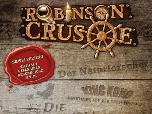 Bild zu Frühjahrs-Neuheiten-Spiel Robinson Crusoe: Schatzkiste